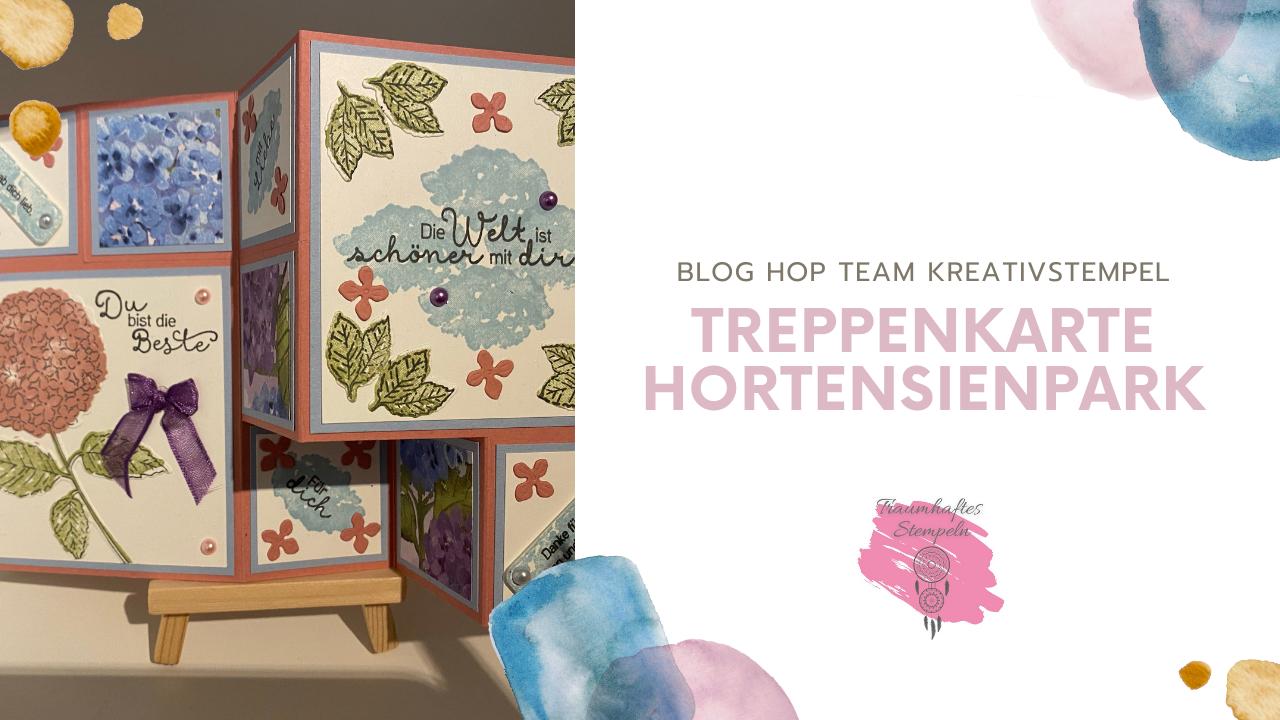 Blog Hop - Sale-A-Bration und Minikatalog - Treppenkarte
