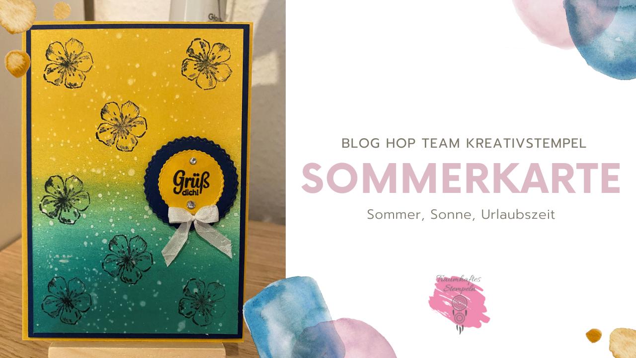 Blog Hop - Sommer, Sonne, Urlaubszeit