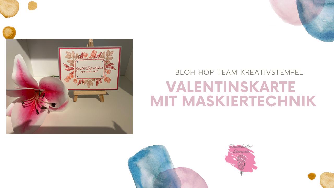 Blog Hop Team Kreativstempel - Valentinstag