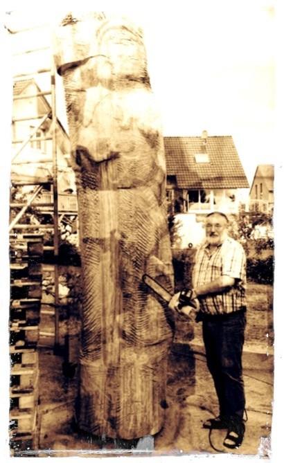 Dr. Schmidt und sein Projekt Korbacher Roland