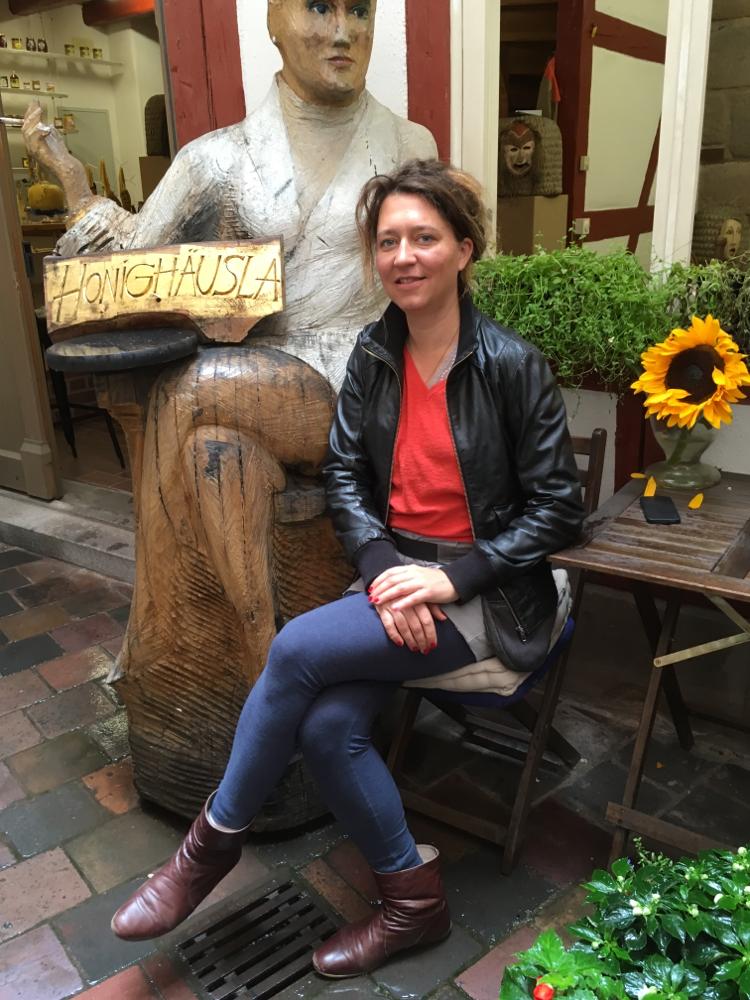 Silke Meyer im Honighäusla Nürnberg