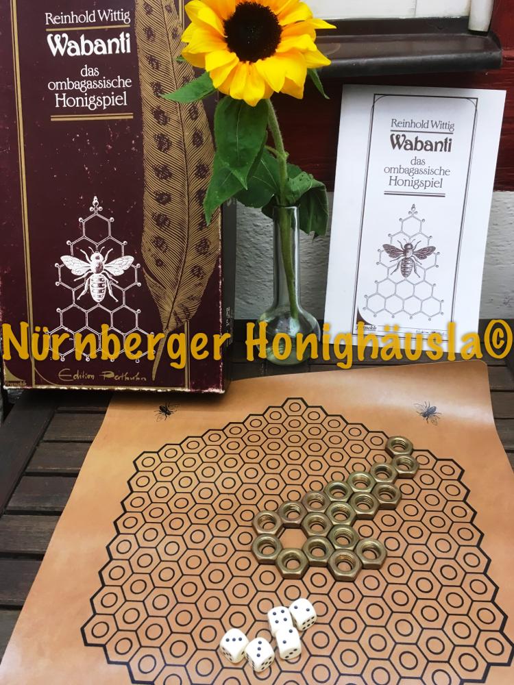 Wabanti, das ombagassische Honigspiel zu den Nürnberger Stadtverführungen