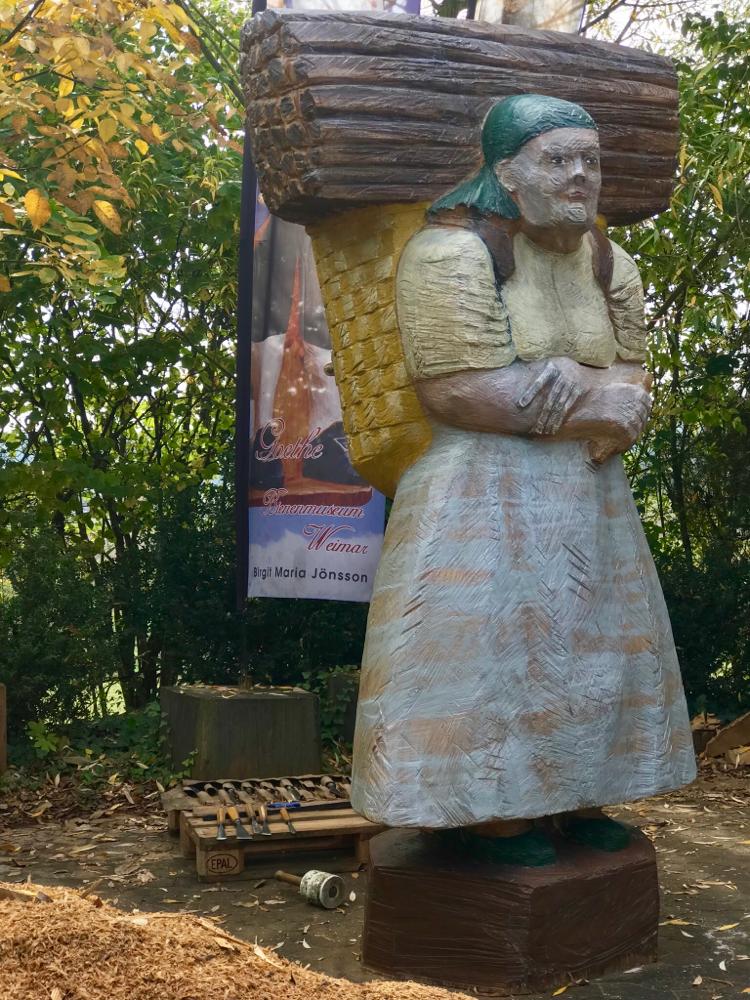 Bienenstock Holzsammlerin für Sachsen