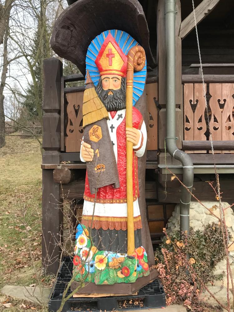 Volkskunst der Figurenbeuten in Polen