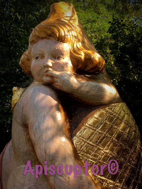Friedhofskunst auch Figurenbeuten eignen sich, Birnauer Honigschlecker