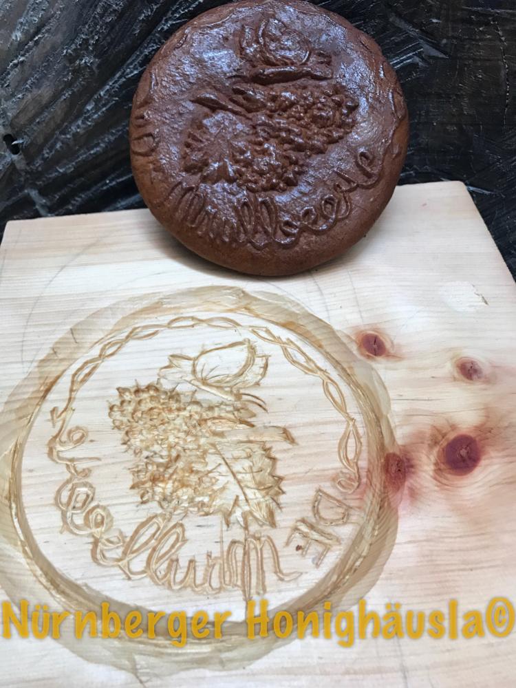 Model und Honigkuchen von Liona