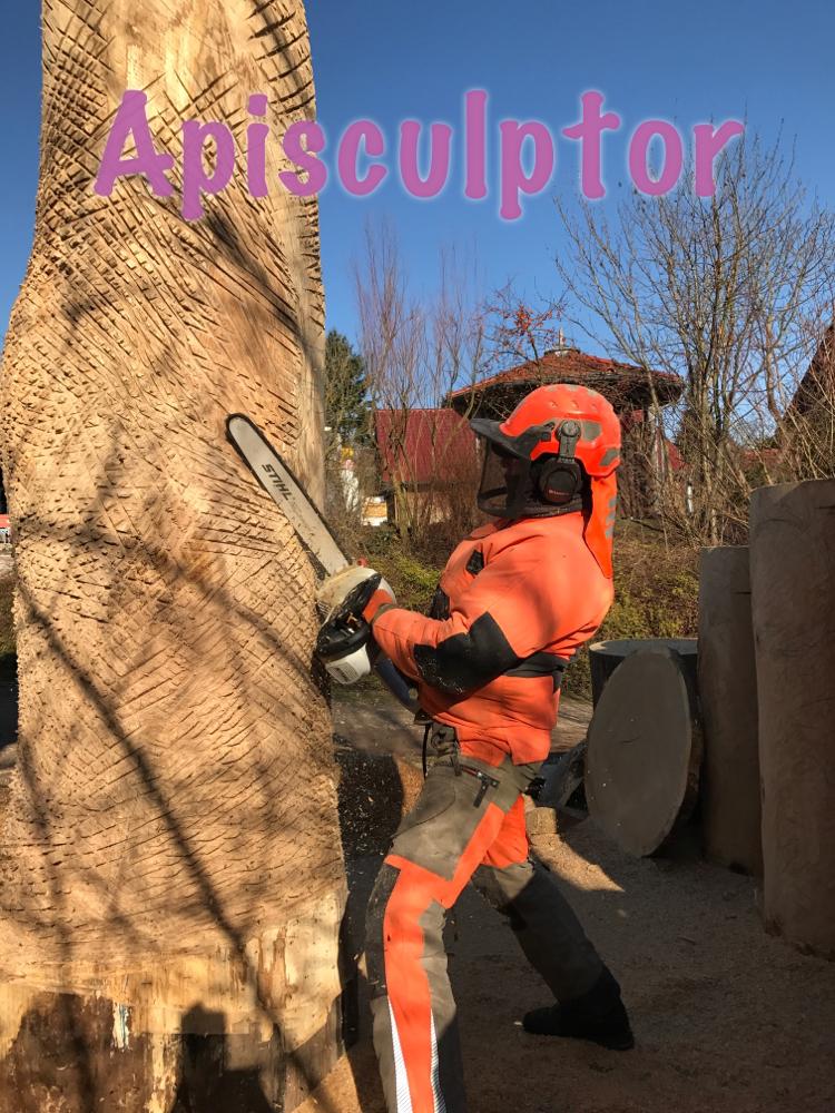 Baumstamm für Bienen