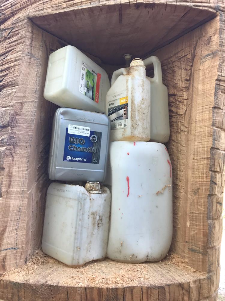 Stockbeute bisher 43 Liter Raum