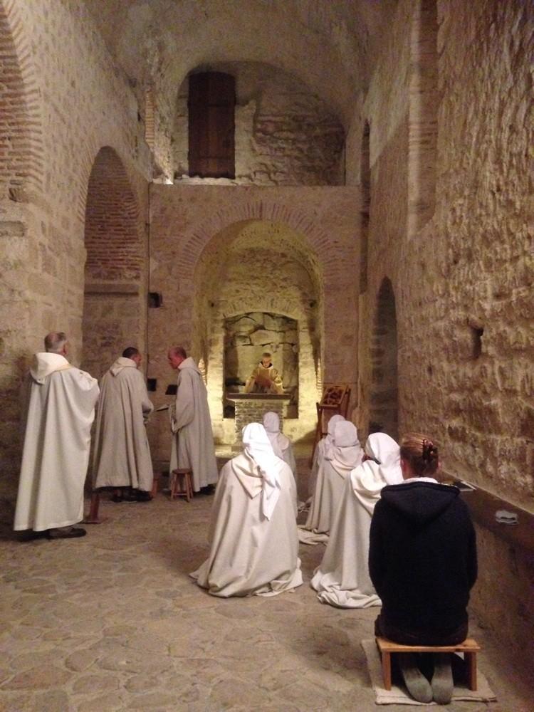 Im Herzen des Mont Saint Michel, France