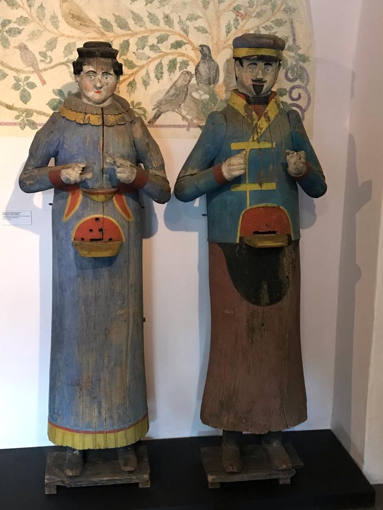 Historische Figurenbeuten, Museum für Volkskunst