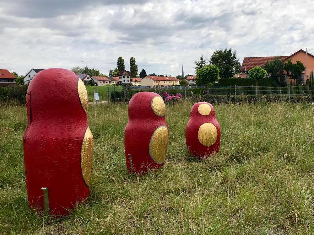 Drei Babuschkas, 1 Figurenbeute