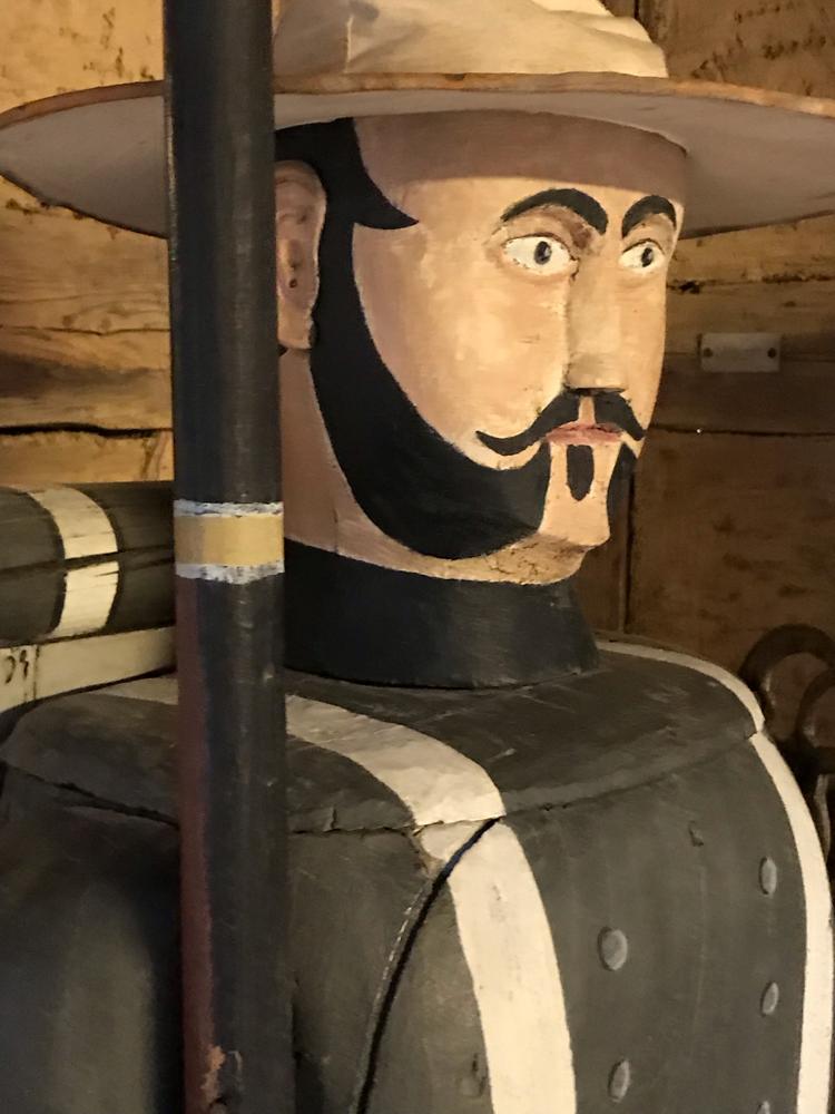 Figurenbeute Söldner, Vogtländisches Freilichtmuseum Landwüst