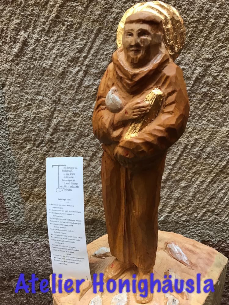 Der hl. Francesco, Erfinder der Krippen