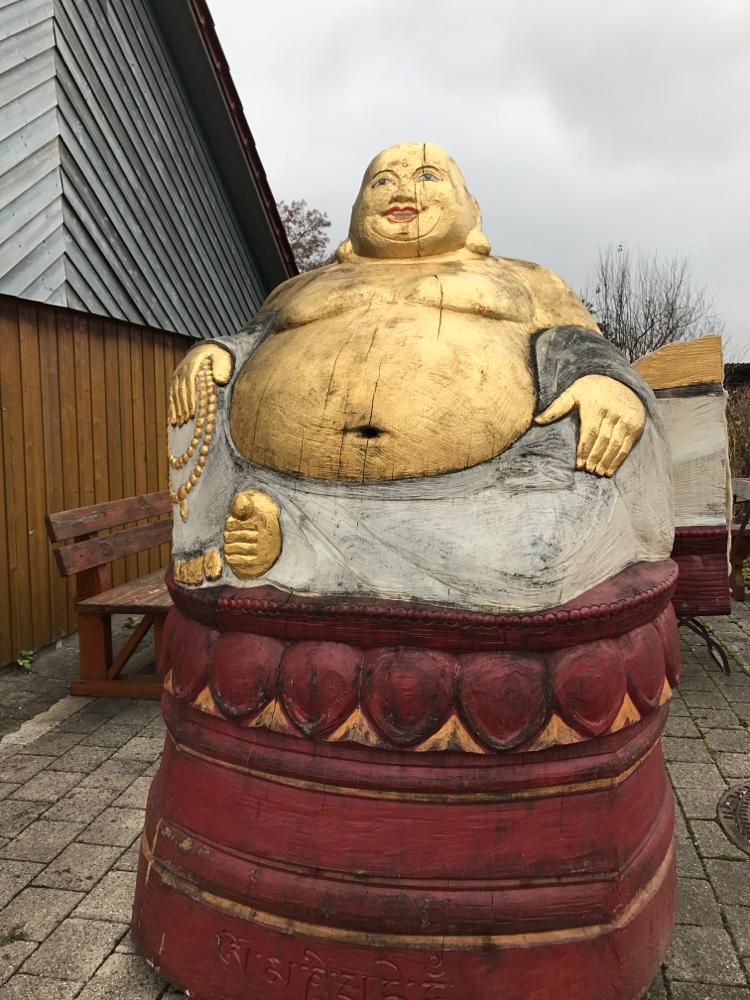 Buddha für Bienen