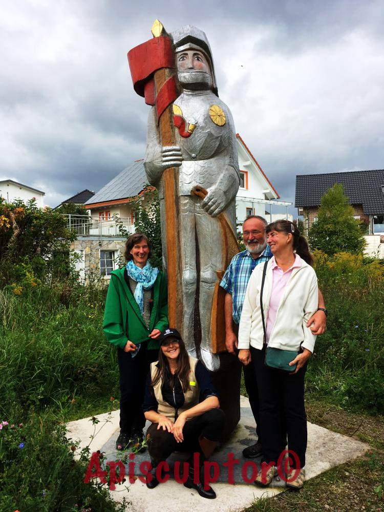 Korbacher Roland und sein Team, Umweltreferat der Stadt Korbach und das Auftraggeberpaar