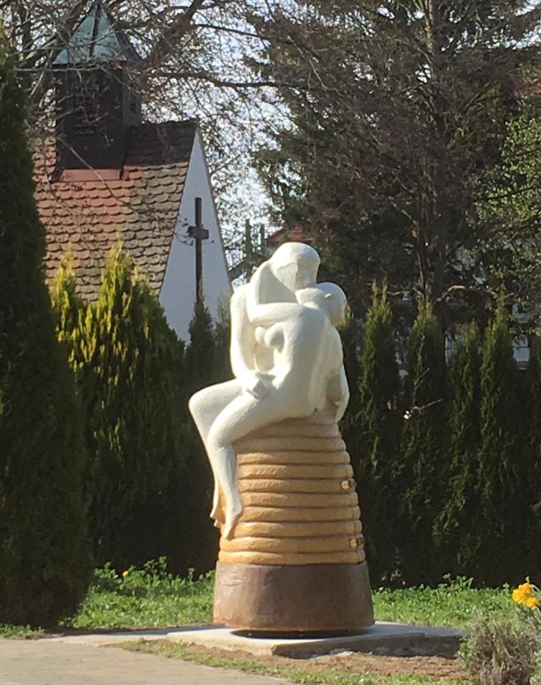 Am Bestimmungsort, der Kuss, La Baiser, Bienenhaus