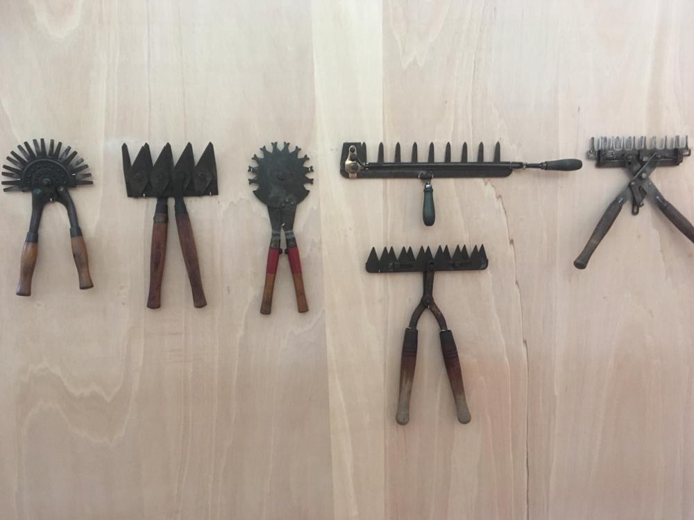 Heckenscheren im Museum für Gartenkultur, Illertissen
