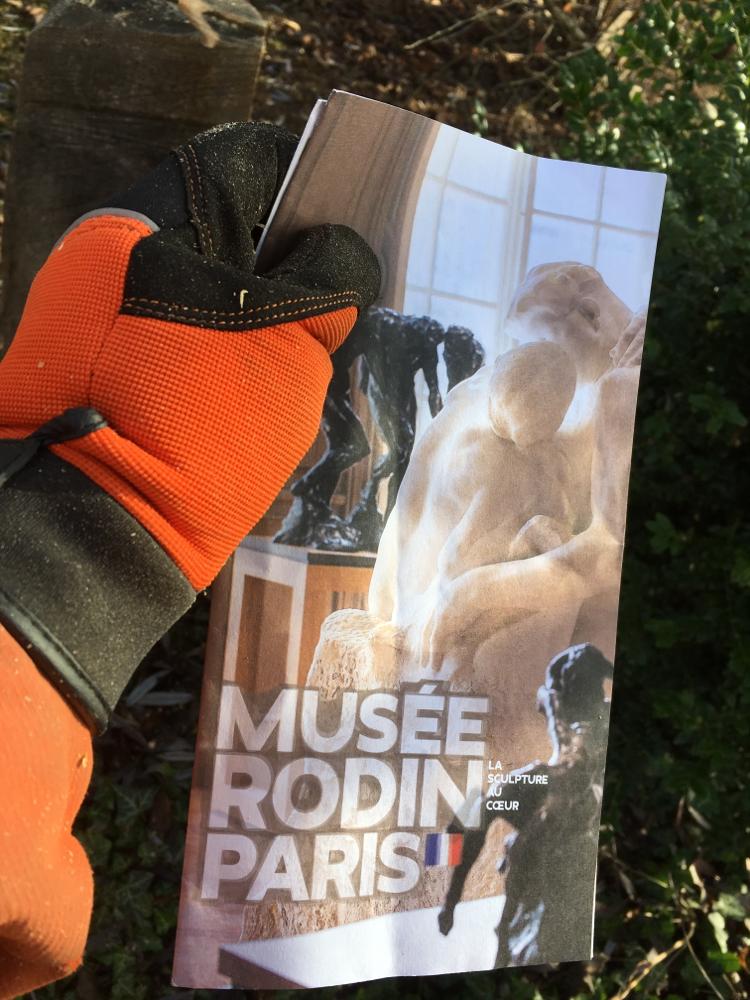LA BAISSER, Der Kuss, zu sehen im Musée Rodin Paris und Meudon