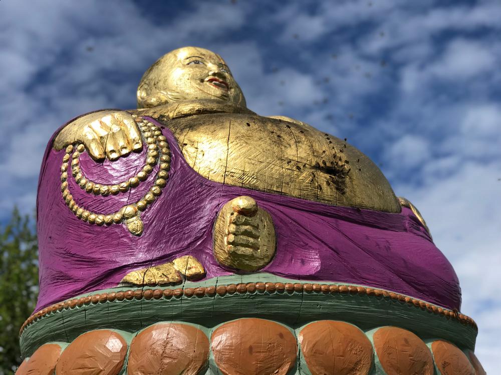 Bienentanz Buddha Figurenbeute