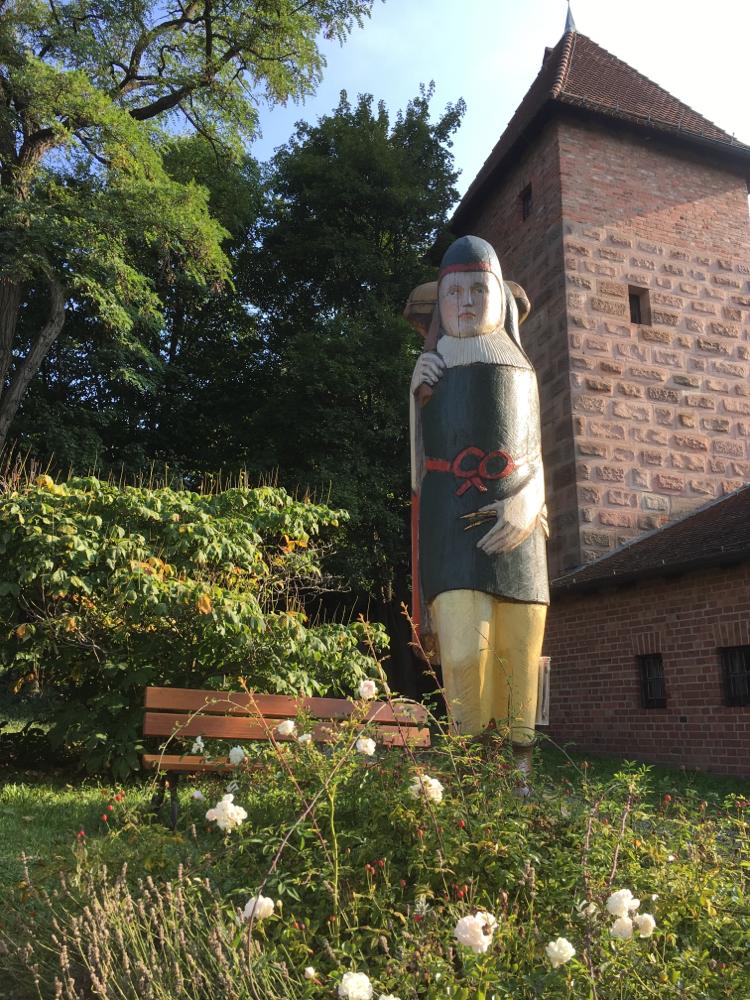 Der Burgzeidler hoch über Nürnberg