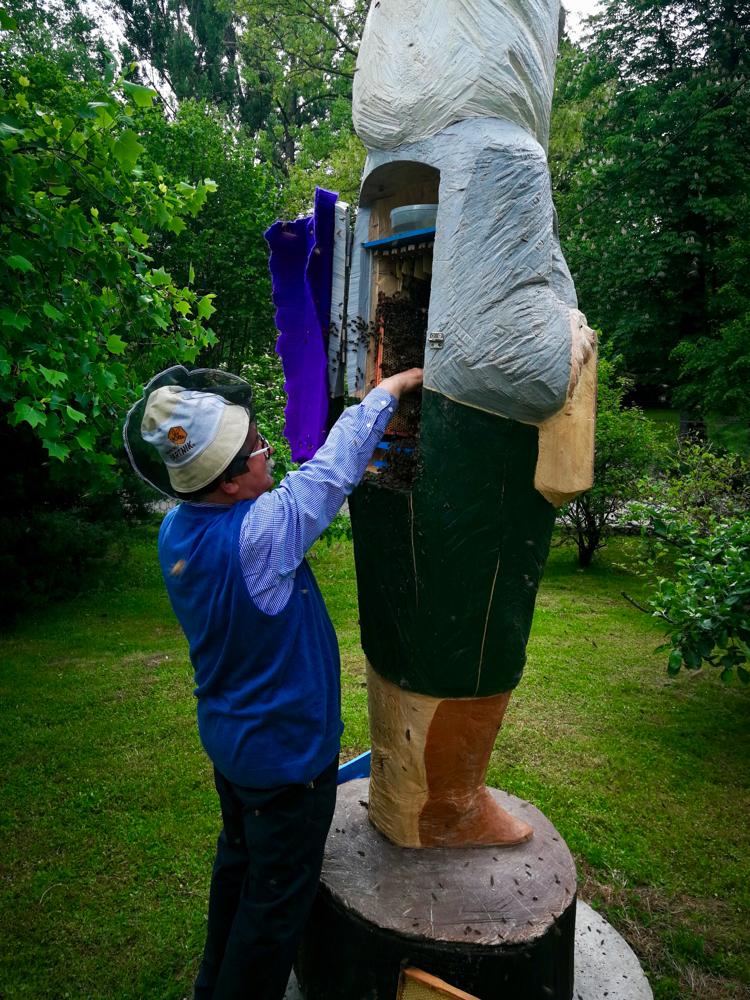 Babci Maryse als Figurenbeute, Südpolen