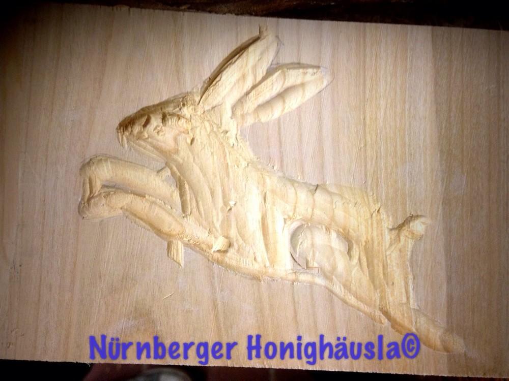 Geschnitztes Honigkuchenmodel von Nele