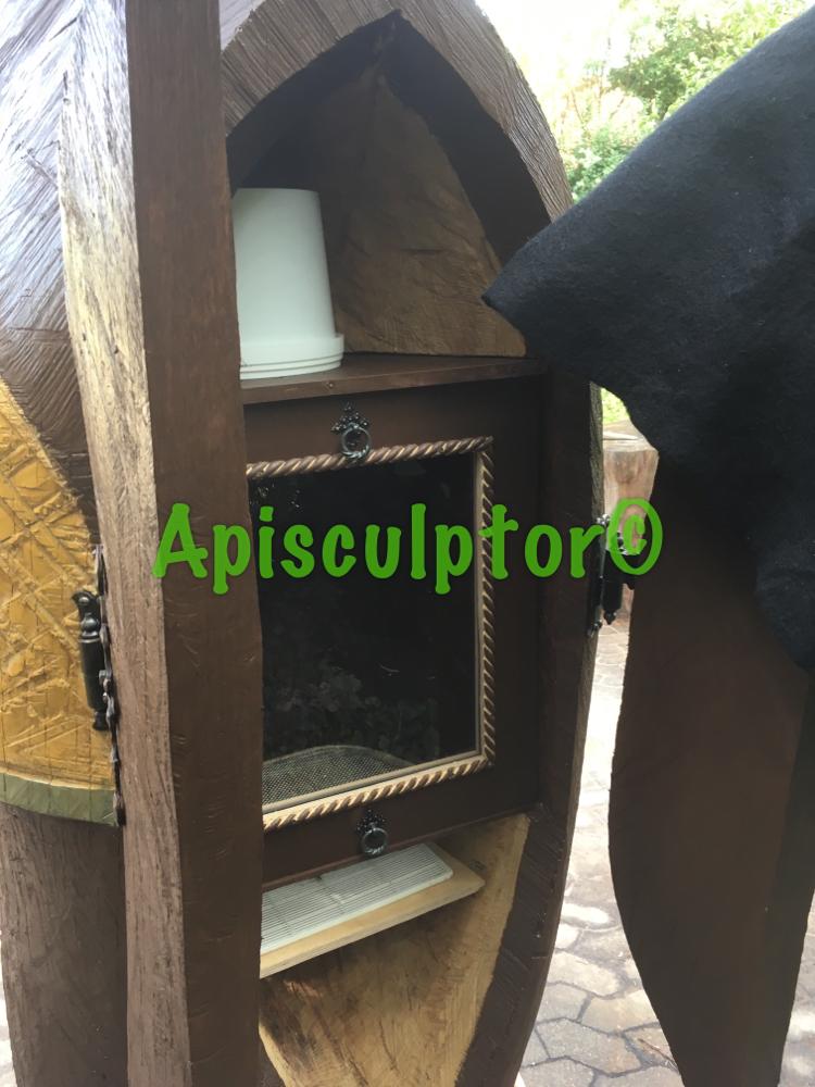 Der Beutenraum des Birnauer Honigschleckers