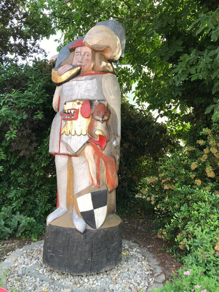 Figurenbeute Albrecht Achilles in Neustadt an der Aisch