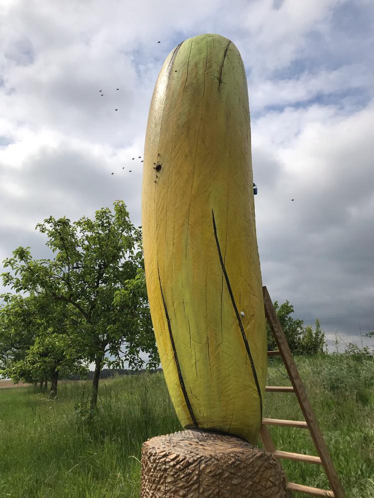 Banane mit Bienen, Südart Schwabach