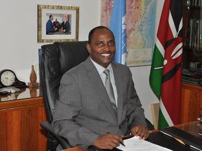 Botschafter von Kenia