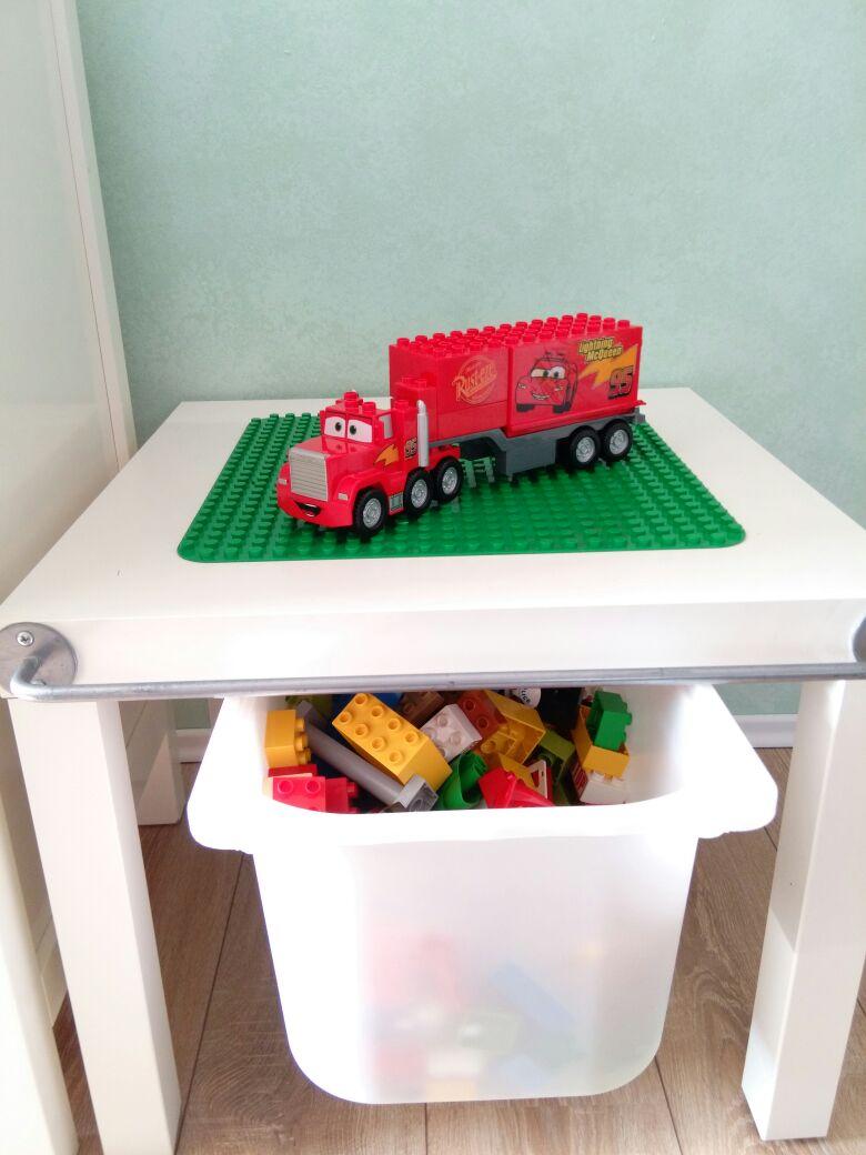 Unser DIY Lego Duplo Tisch