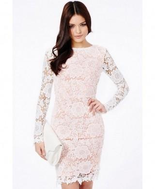 Бело лазурное платье