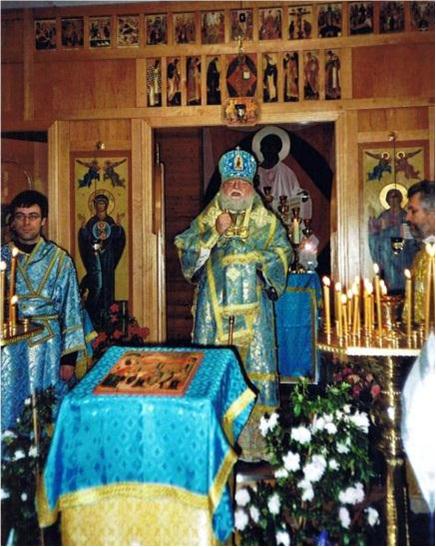Визит архиепископа Берлинского и Германского Феофана, 2003 год