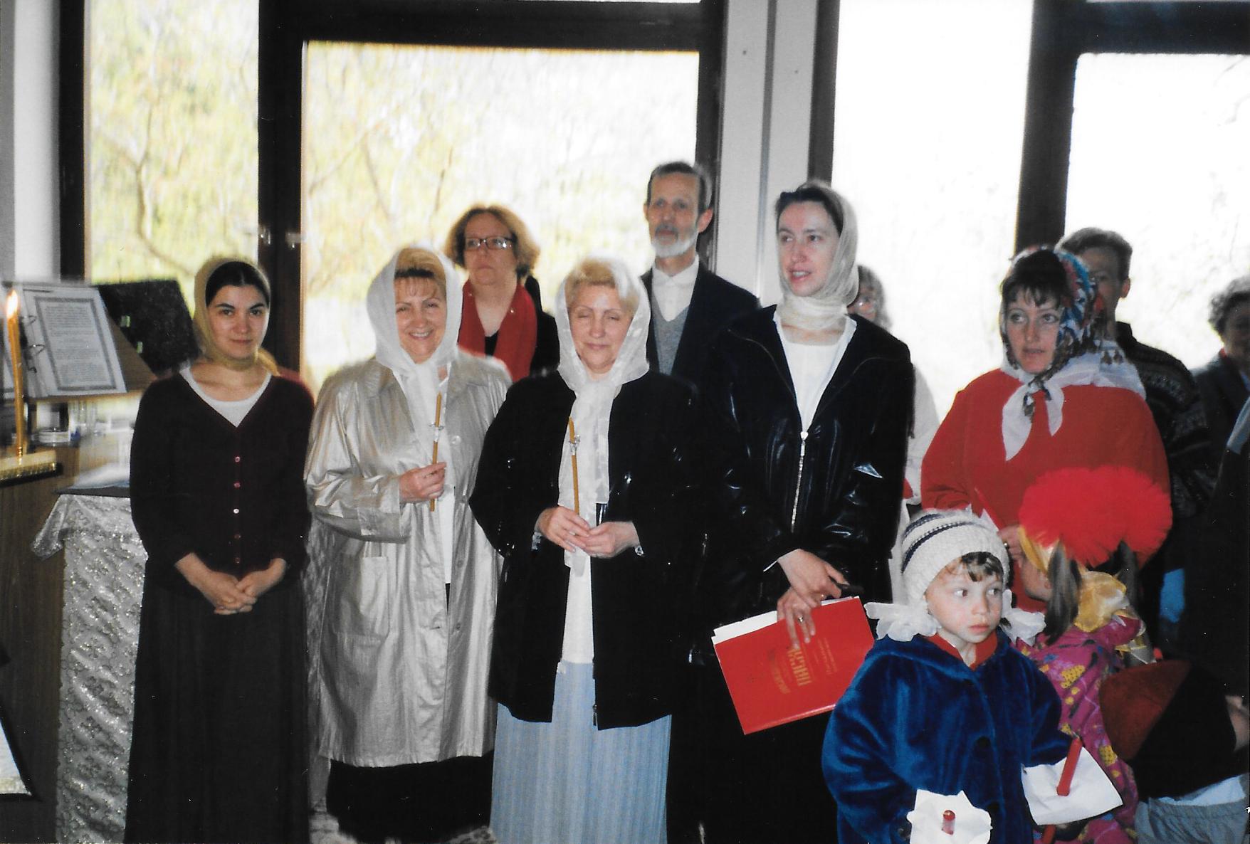 Пасха 2003 года