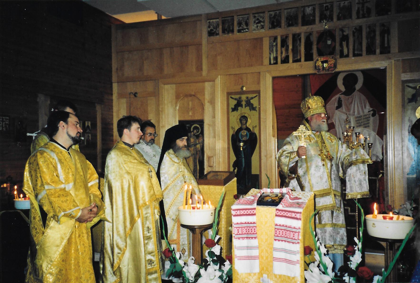 Визит архиепископа Берлинского и Германского Феофана, в сентябре 2000 года