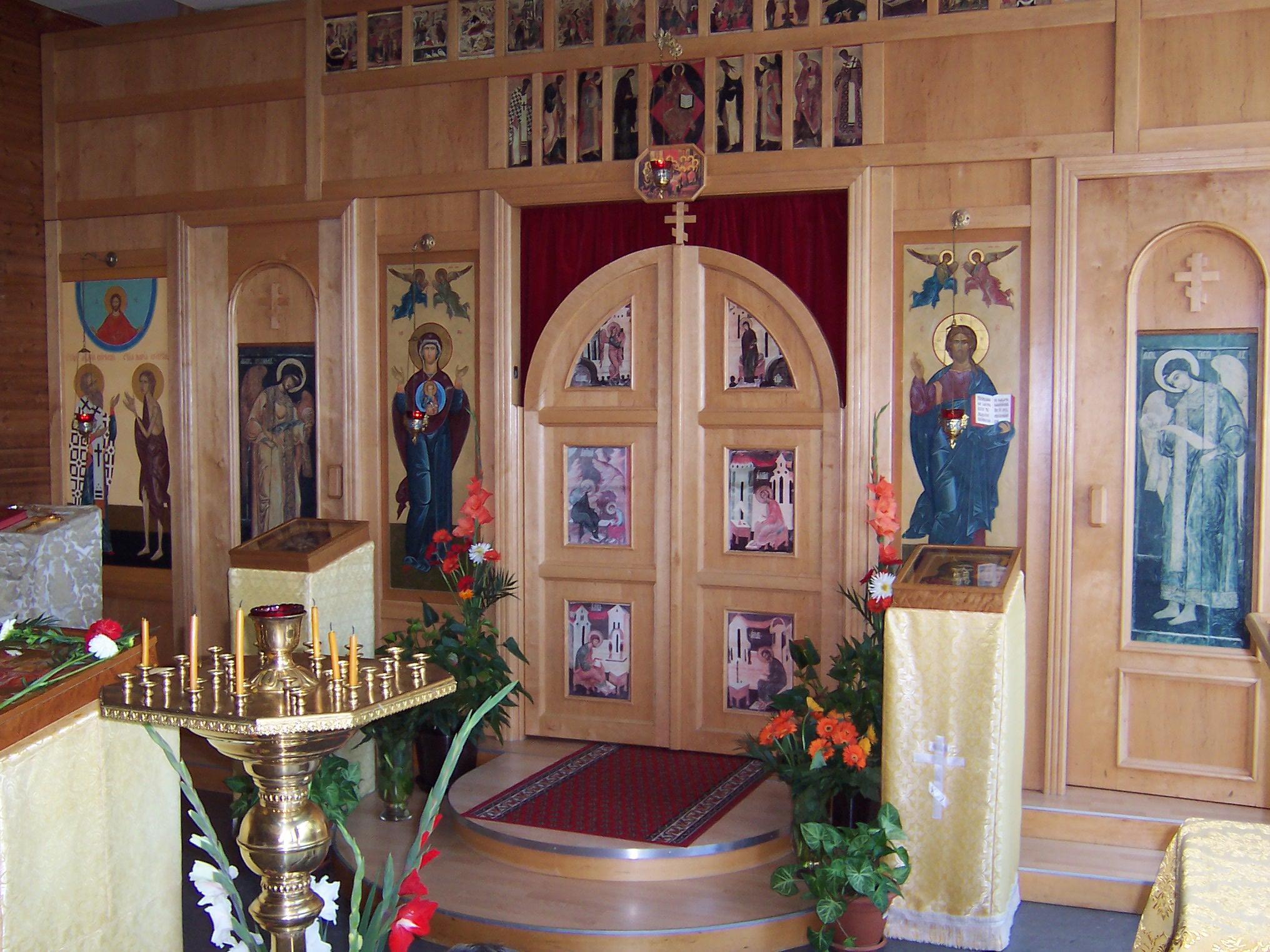 Иконостас нашего храма