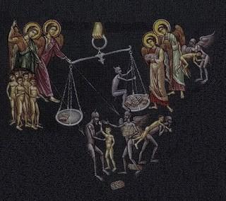 Das Gericht der Seele nach dem Tod