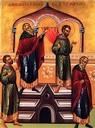 Pharisäer und Zöllner im Tempel