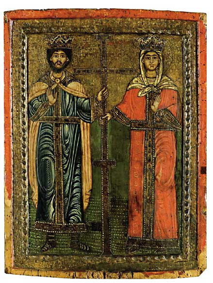 Hl. Konstantin und Hl. Helena