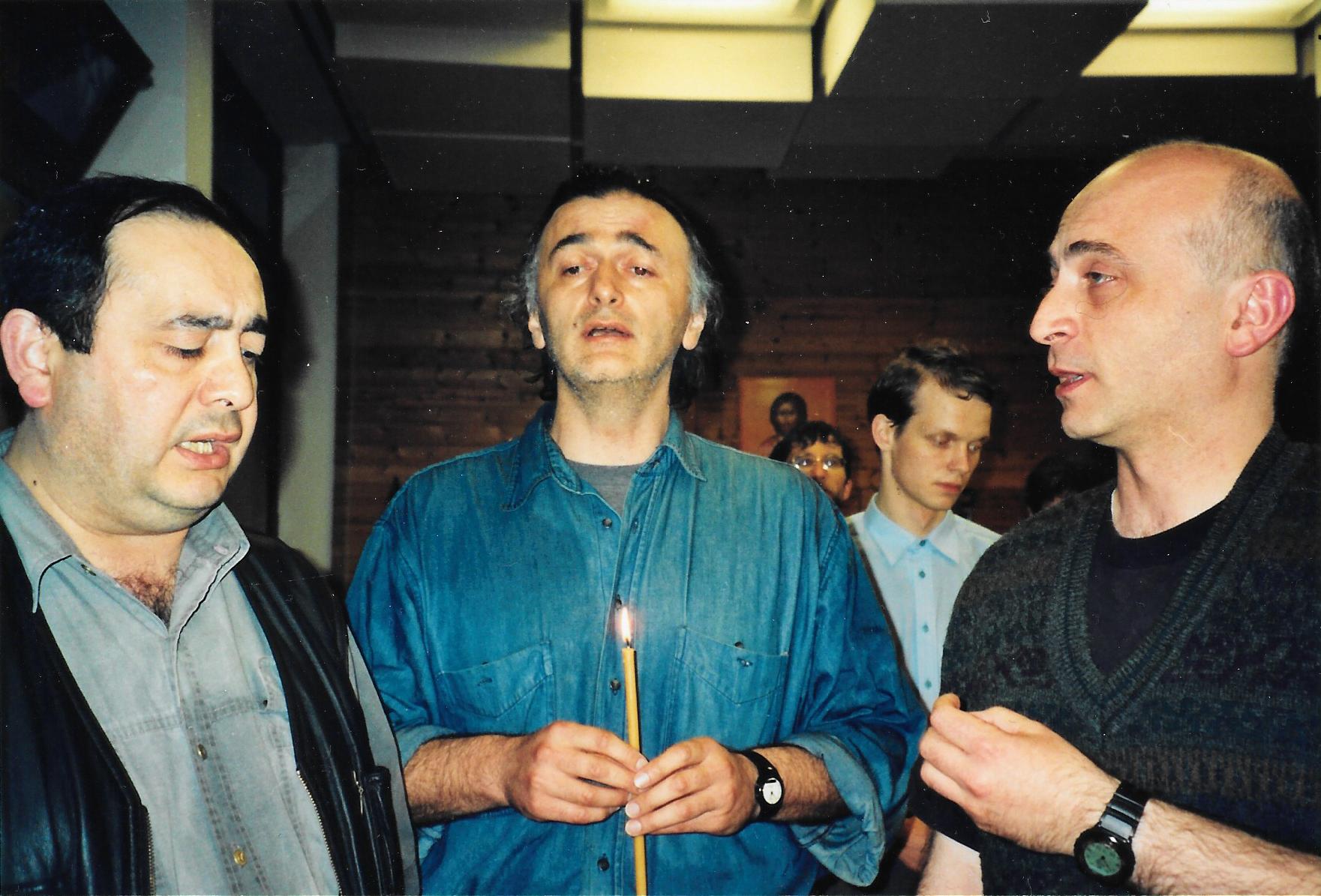 Пасха 2000 года. Херувимская песнь