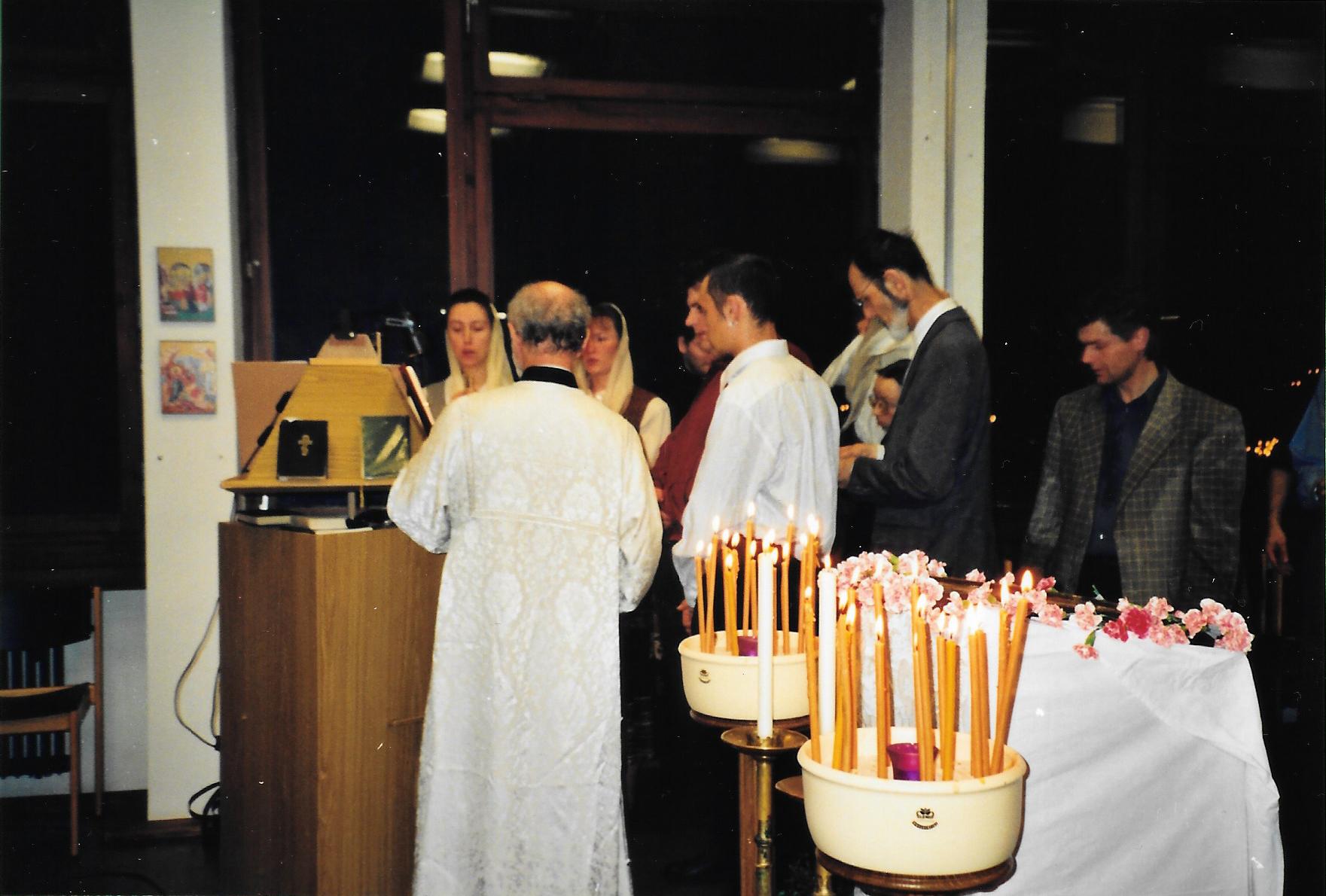 Пасха 2000 года