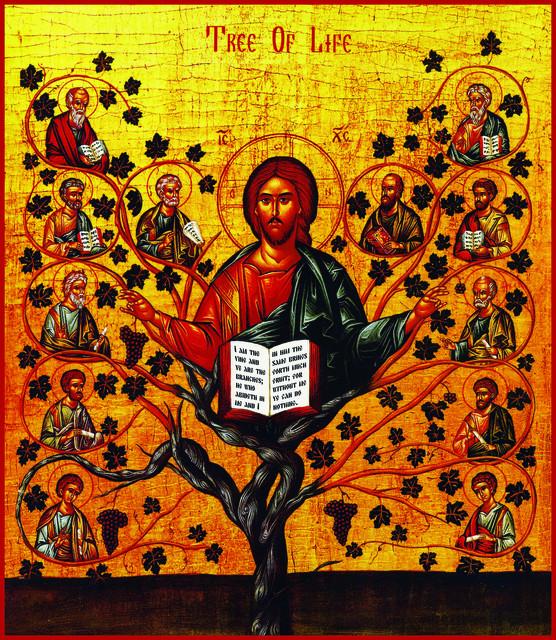 Christus, der Baum des Lebens