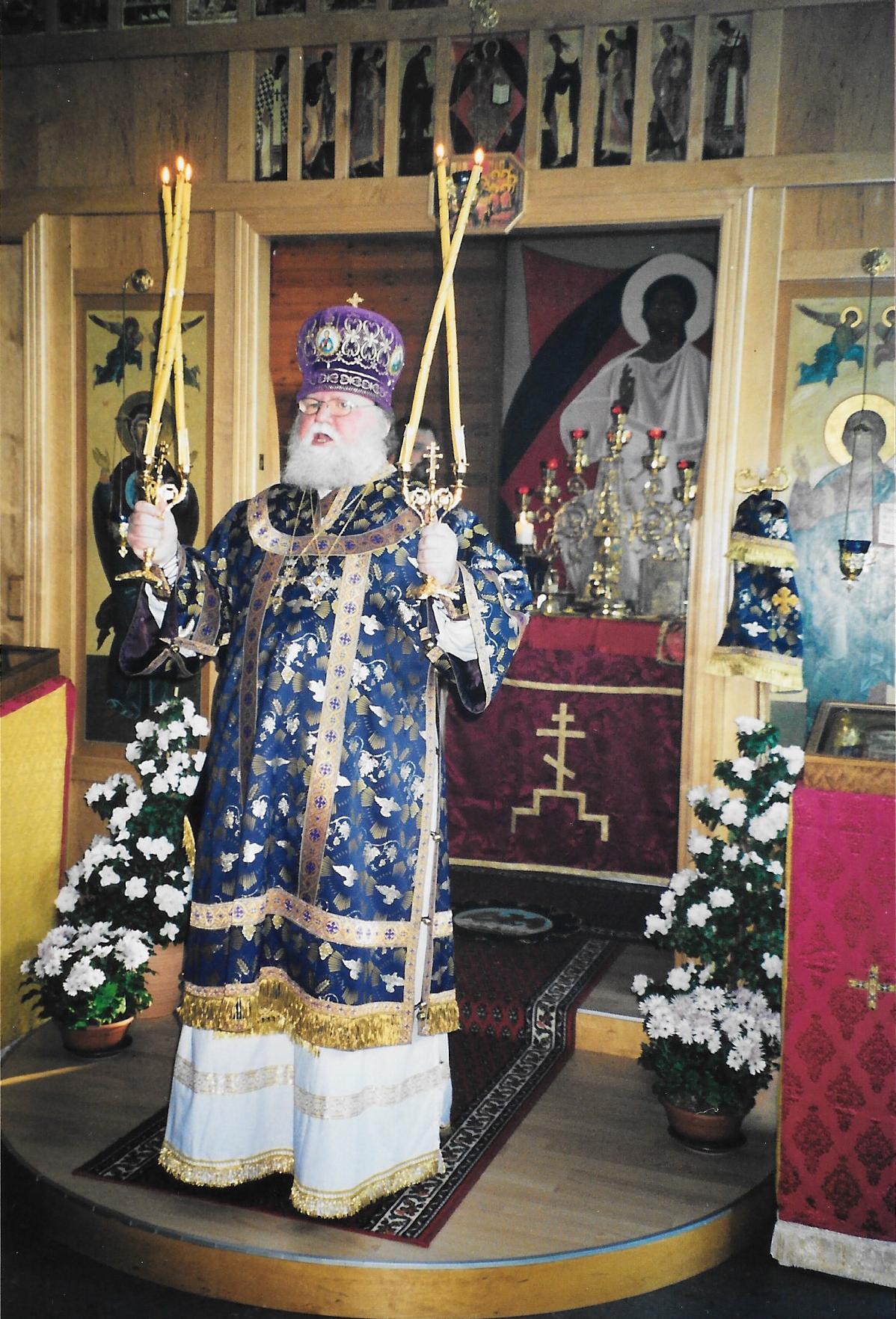 Визит архиепископа Берлинского и Германского Феофана, 9 декабря 2001 года