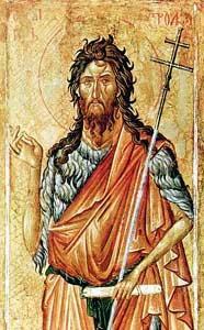 Hl. Johannes, der Täufer