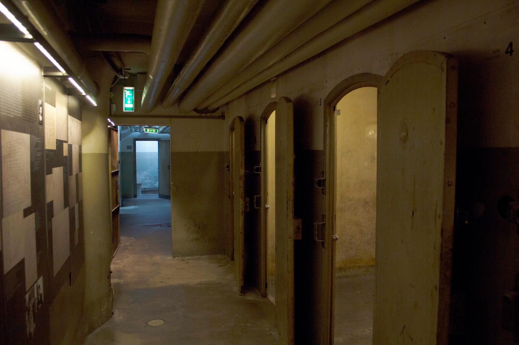 Celle in cui venivano rinchiusi gli Ebrei