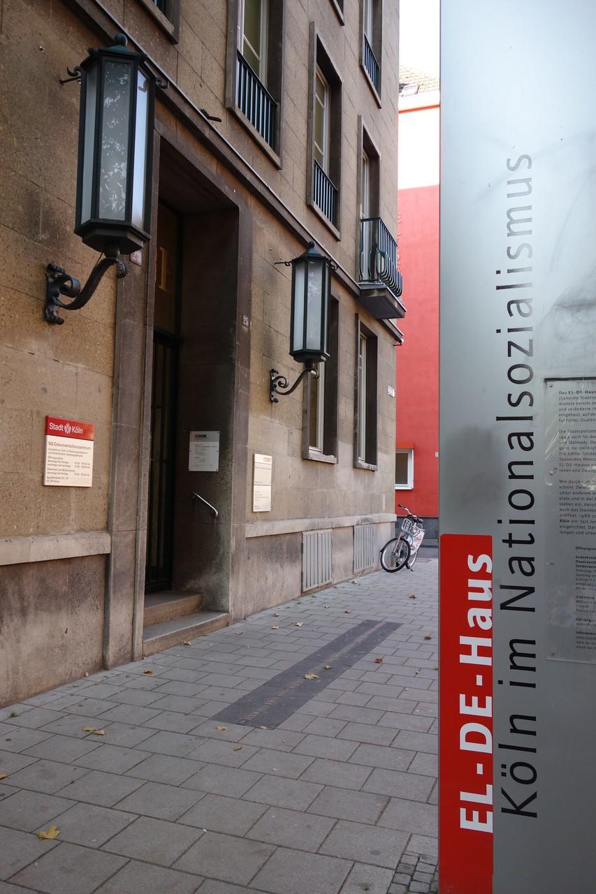 Entrata del museo.