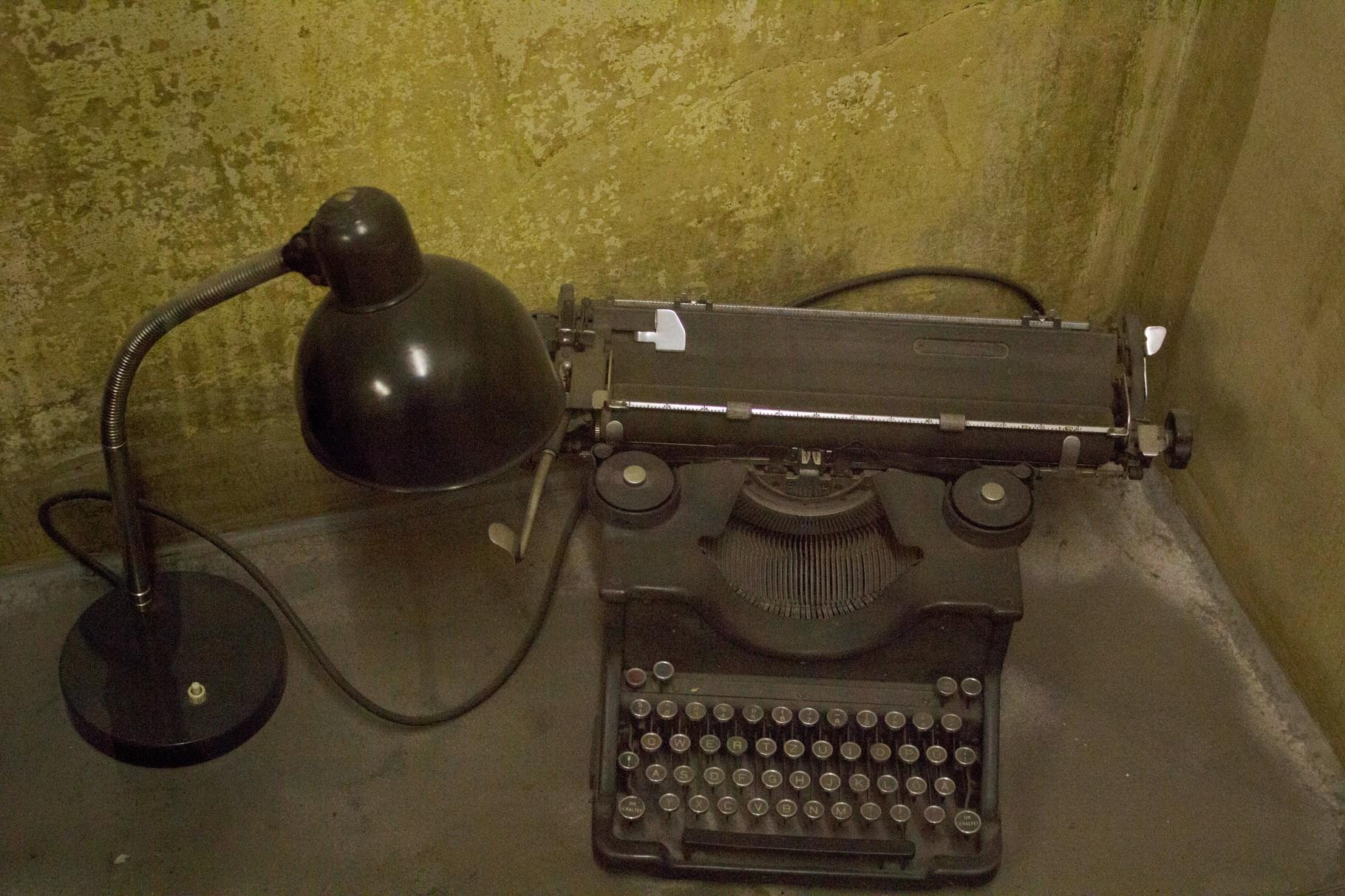 Macchina da scrivere utilizzata dai Nazisti