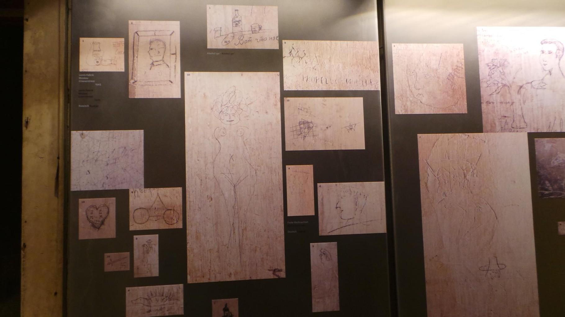 Ritrovamento delle scritte sulle pareti