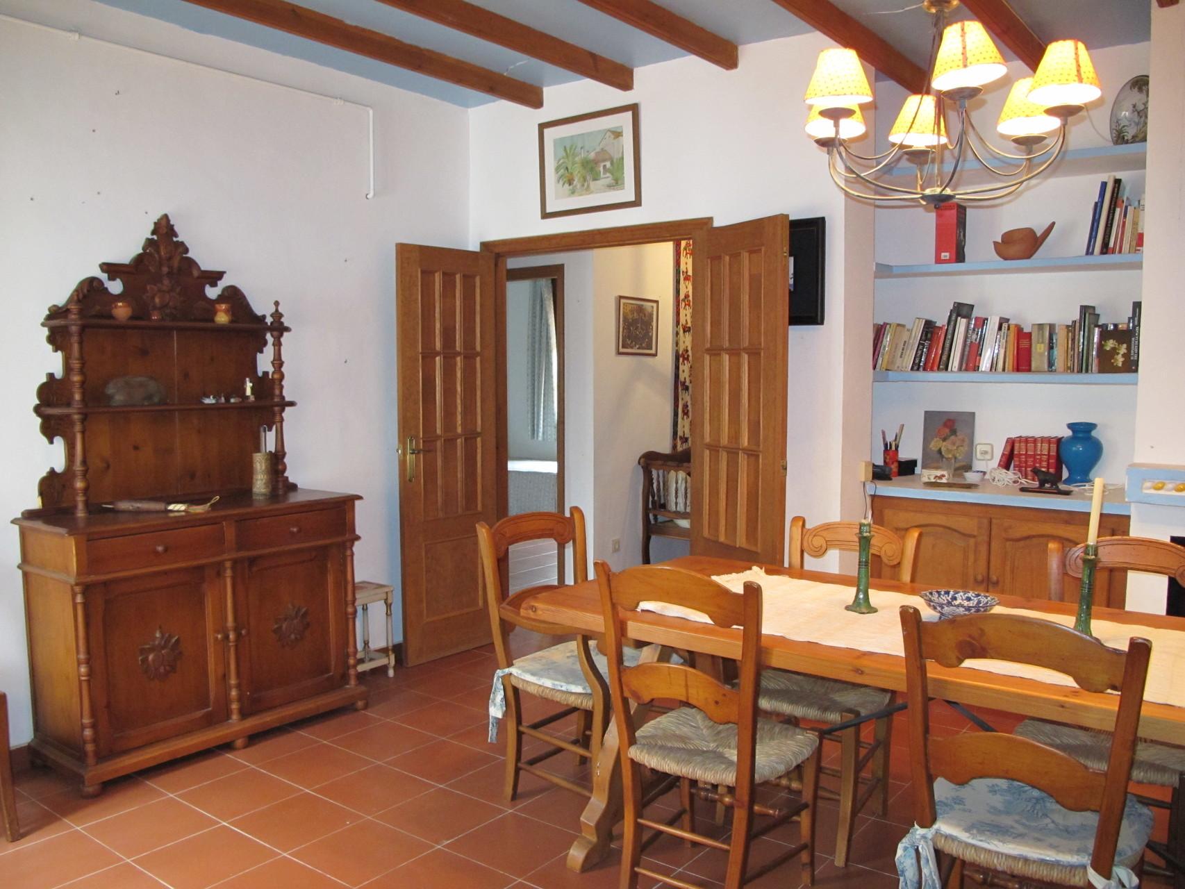 Detalle salón interior