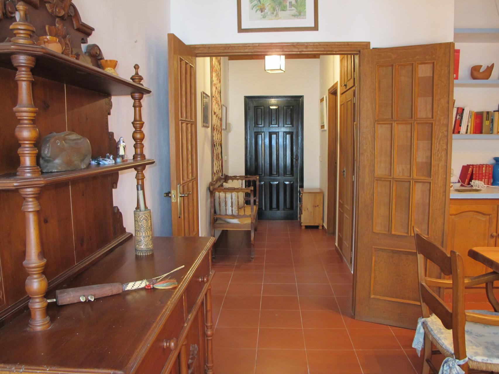 Detalle Villa Greenfield, vista interior del recibidor